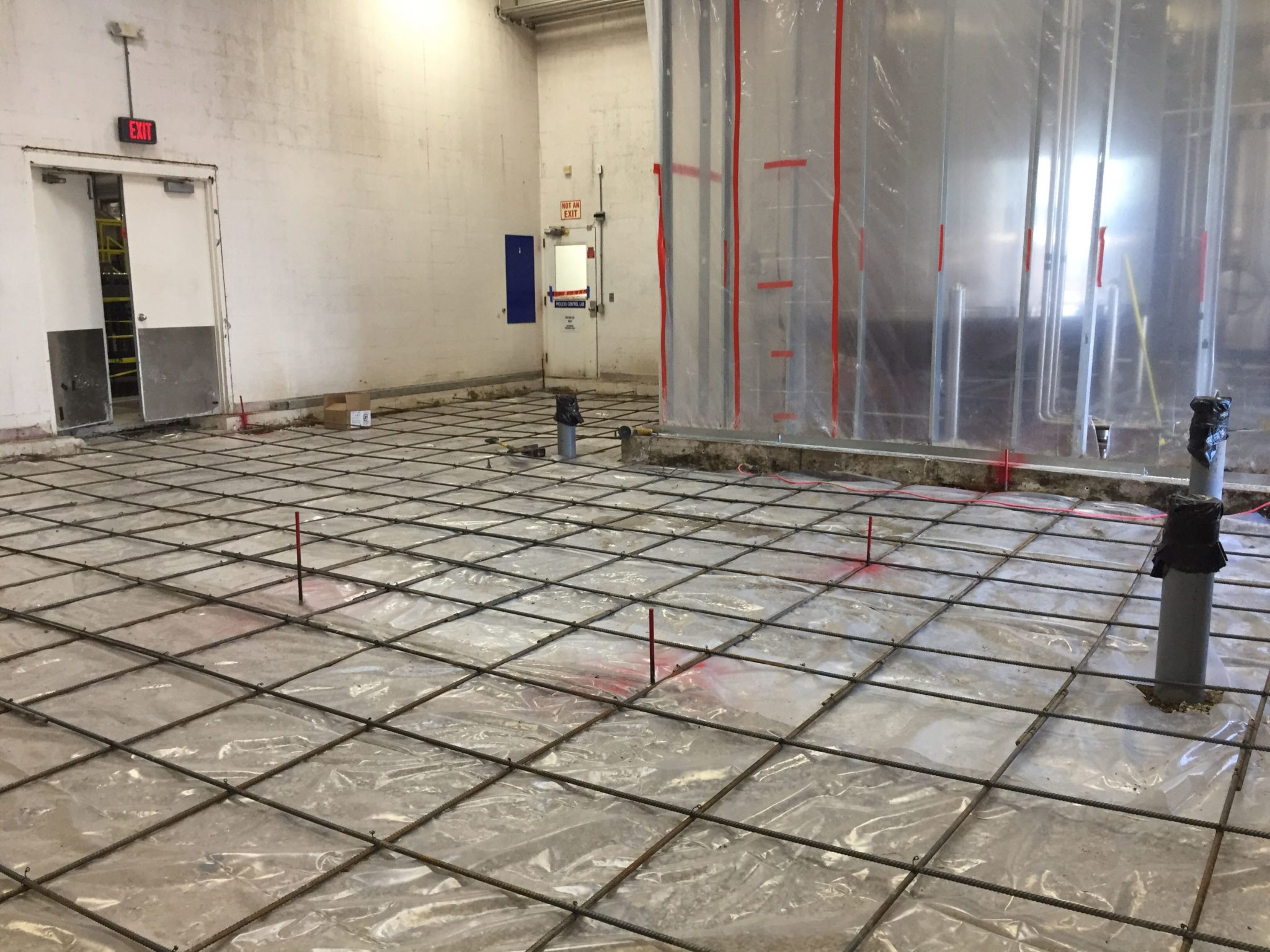 Concrete Cross-Web Rebar Grid